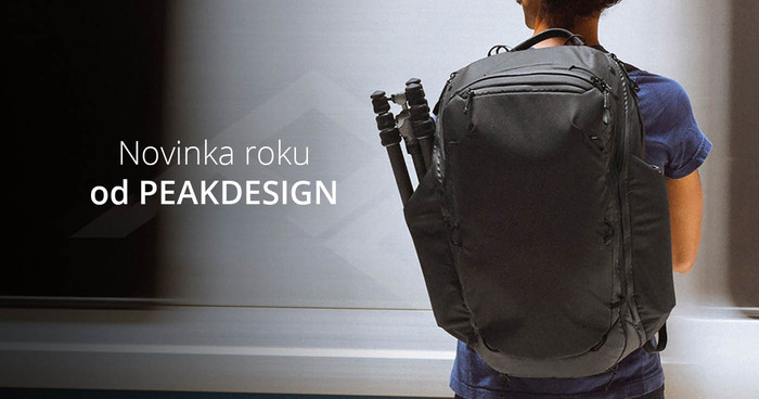 Travel Backpack 45L - novinka od Peak Designu