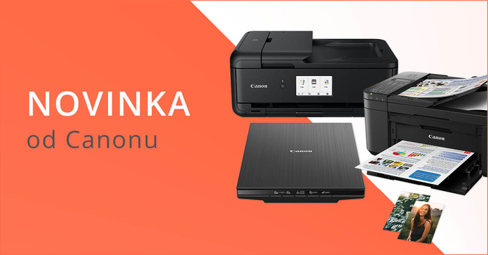 Canon představuje nové tiskárny a skenery