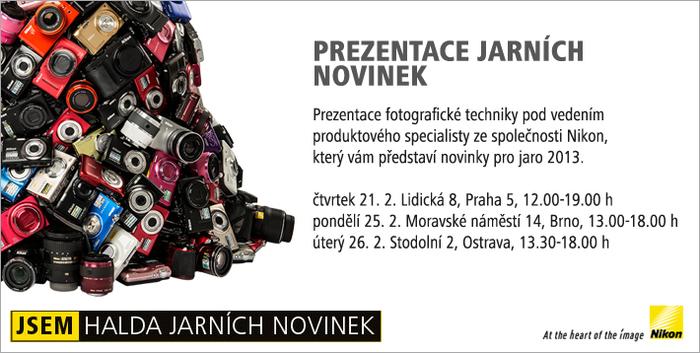 Prezentace jarních novinek Nikon