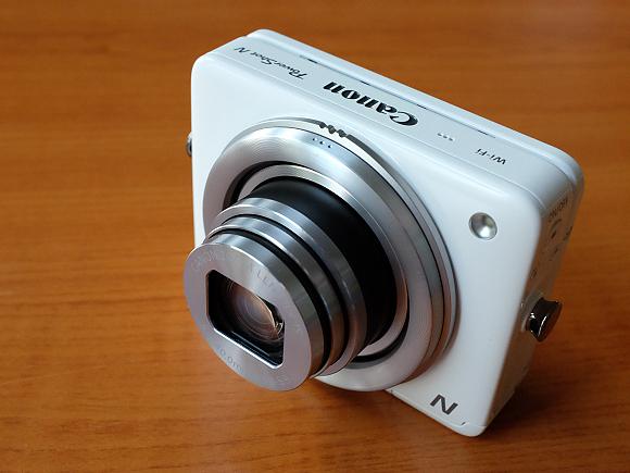 Canon PowerShot N - první test