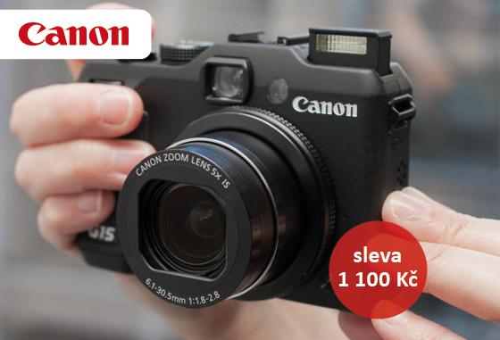 Canon PowerShot G15 a další kompakty nyní za nižší cenu