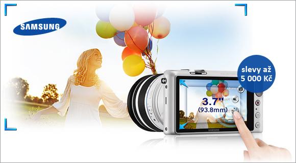 Samsung NX2000 a NX300 nyní se slevou až 5000 Kč
