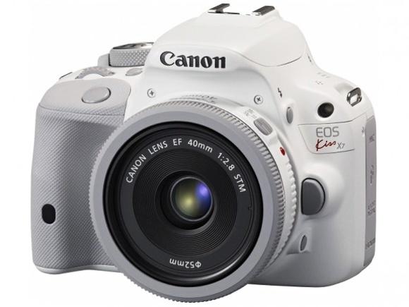 Bílý Canon EOS 100D představen v Japonsku