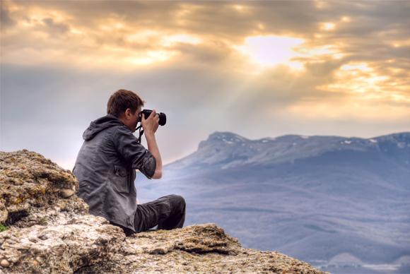 Správný fotograf má fotoaparát stále při sobě