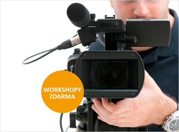 Zajímá vás video? Nenechte si ujít workshopy s naším specialistou!