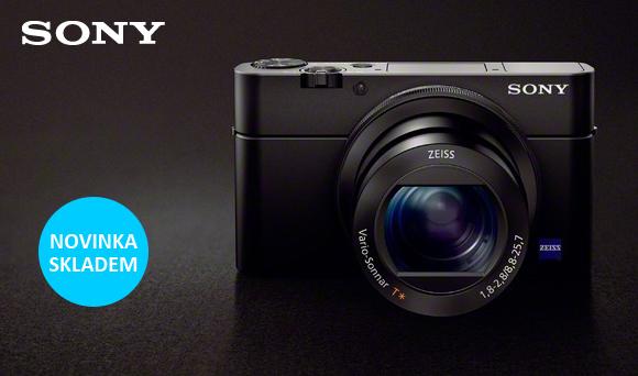Výkonný kompakt Sony RX100 III je již v prodeji