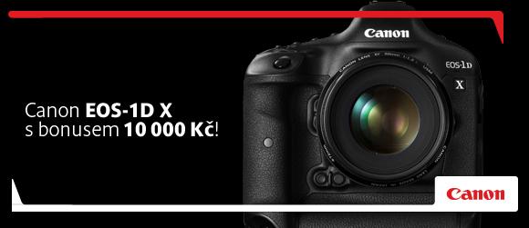 Canon EOS 1D X s okamžitou slevou 10 000 Kč až do konce roku!