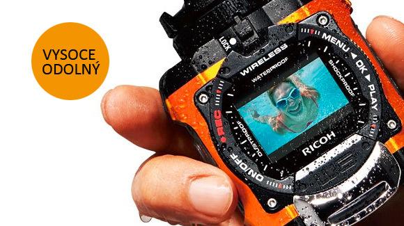 Nová outdoorová kamera Pentax WG-M1