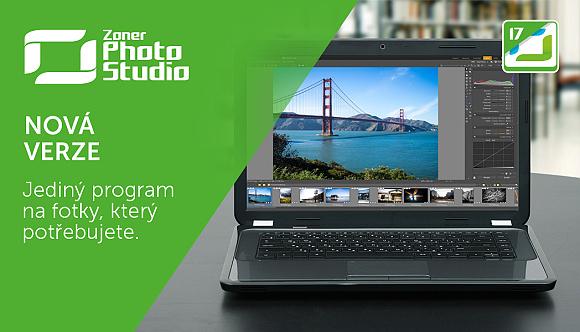 Nový Zoner Photo Studio 17 – jediný software na fotky, který potřebujete