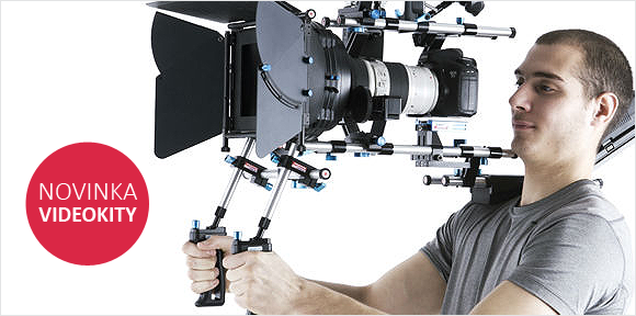 Videokit - nové sady pro videozáznam digitální zrcadlovkou