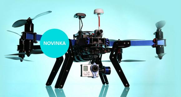 Máme skladem kvadroptéry 3D Robotics