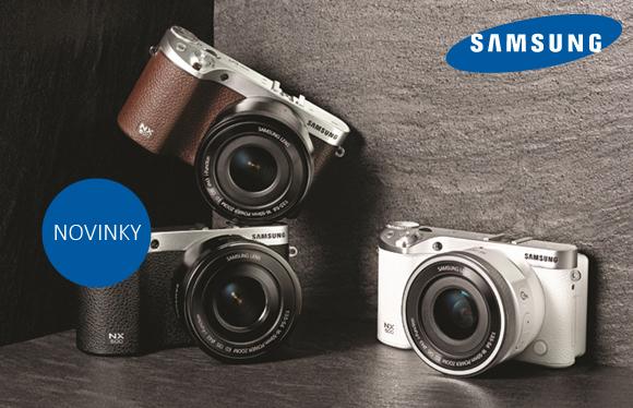 Samsung představil novinku NX500 a další fotoaparáty