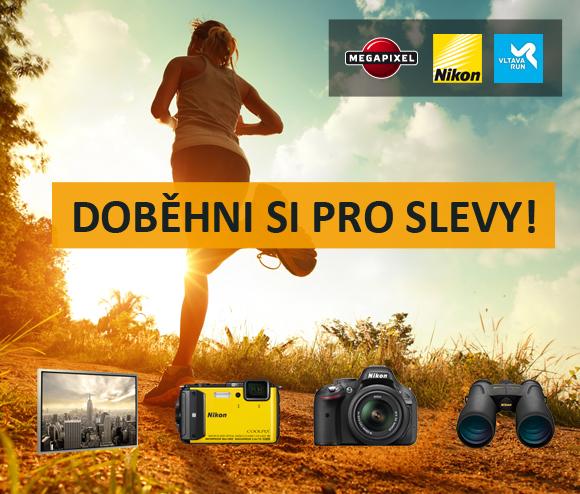 Megapixel a Nikon partnery závodu Vltava run