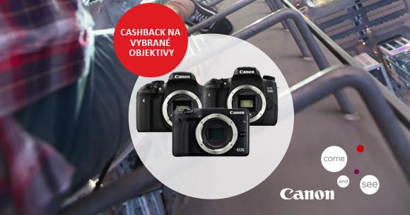 Začíná Canon cashback na EOS 750D a 760D s vybranými objektivy