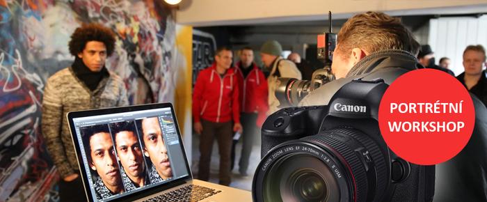Přijďte na portrétní workshopy s Canonem již 1. prosince