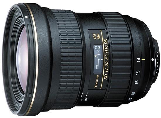 Tokina AT-X SD 14-20mm f/2 PRO IF PRO DX světelný širokáč pro APS-C