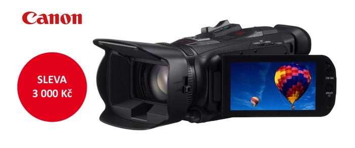 Zlevnili jsme výkonnou kameru Canon LEGRIA HF G30 o 3 000 Kč