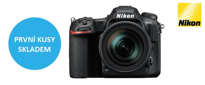 Naskladnili jsme první kusy novinky Nikon D500