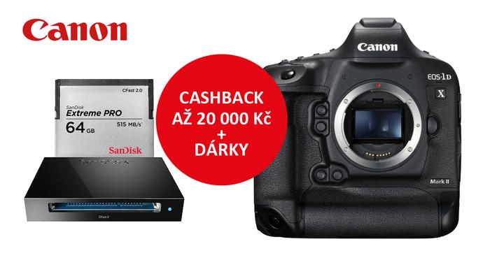 Získejte k nákupu Canon 1DX Mark II jako dárek 64GB kartu CFast 2.0 a čtečku karet.