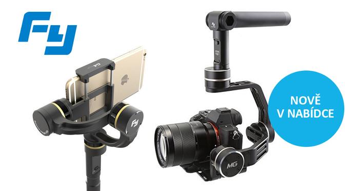 Feiyu Tech stabilizátory - natáčejte a foťte jako profesionálové