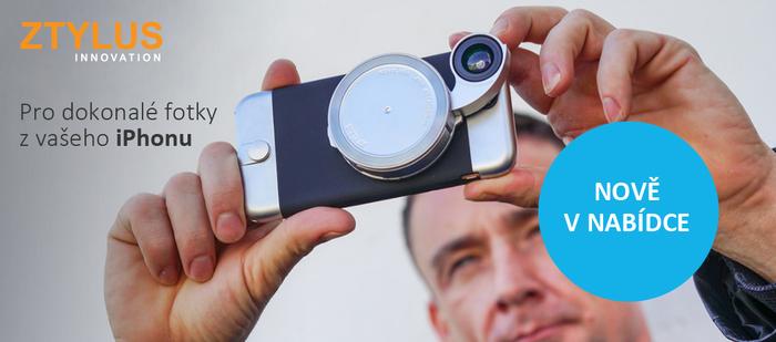 Nově máme v nabídce exkluzivní fotopříslušenství ZTYLUS pro iPhone
