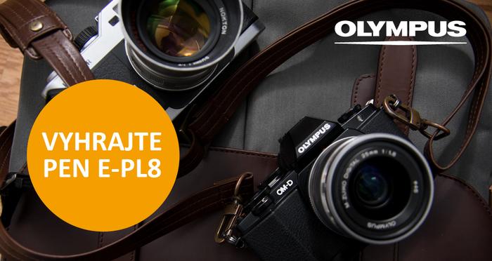 Přijďte si vyzkoušet fototechniku Olympus a vyhrajte PEN E-PL8