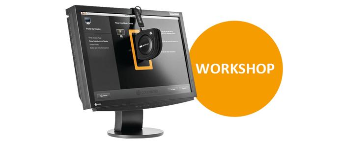 Naučte se správu barev a kalibraci vašeho monitoru na workshopech EIZO