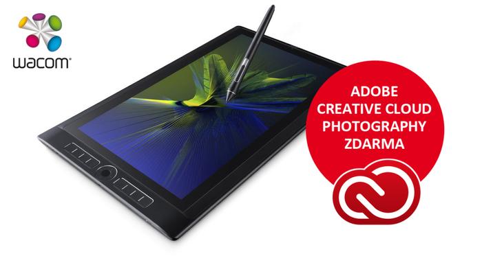 Získejte do konce února dárek k Wacom Mobile Studio Pro - software Adobe v hodnotě 3 890 Kč