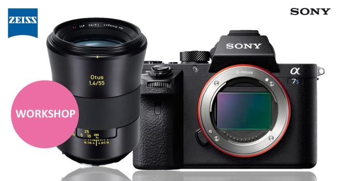 Přijďte na workshopy makrofotografie, fashion portrétu a noční architektury se Zeiss a Sony