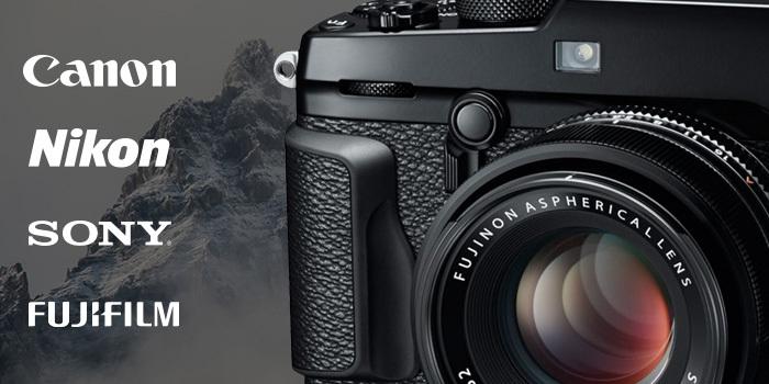 Využijte poslední dny akcí cashback Canon, Nikon, Sony a Fujifilm