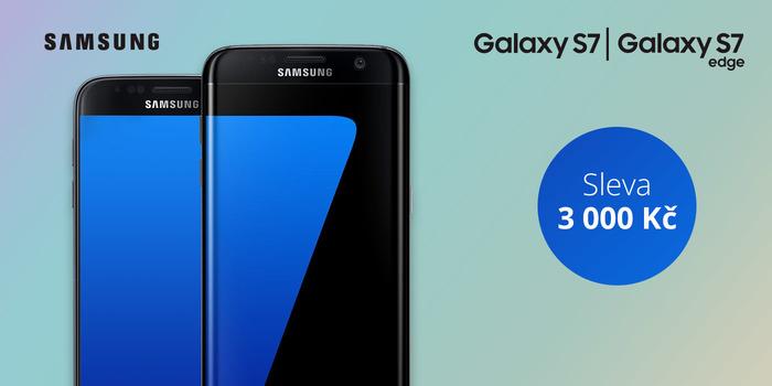 Samsung Galaxy S7 a S7 Edge se slevou 3 000 Kč