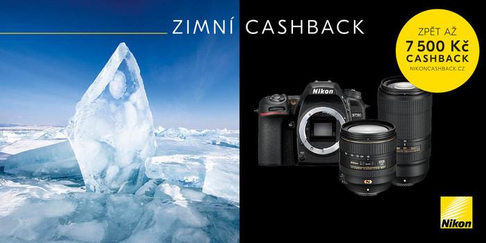 Chcete ušetřit až 7 500 Kč? Se zimním cashbackem Nikon je to možné!