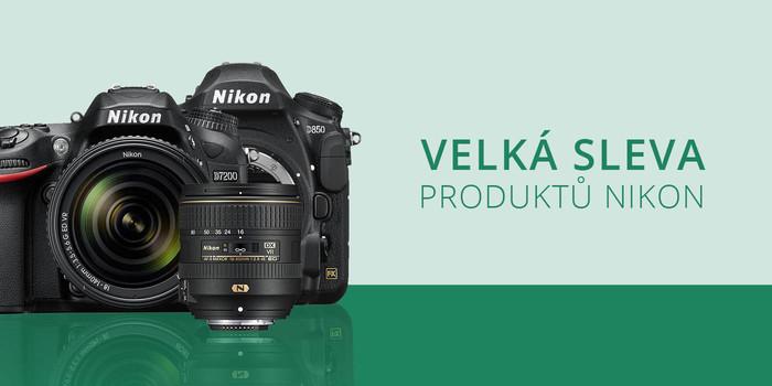 Velké zvýhodnění cen fotoaparátů a setů Nikon