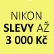 Nové slevy fotoaparátů Nikon