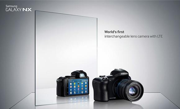 Samsung Galaxy NX se systémem Android byl dnes oficiálně představen