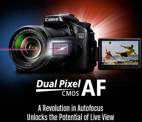 """Canon dnes představil EOS 70D s """"Dual Pixel CMOS AF"""""""