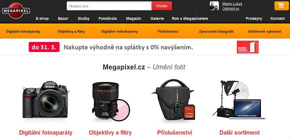 Nový web Megapixelu - ohlednutí za prvním rokem od spuštění