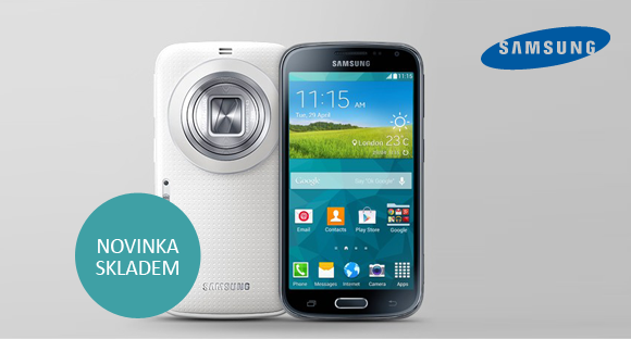 Nový fotomobil Samsung K Zoom skladem