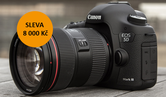 Canon EOS 5D Mark III je nyní levnější o 8 000 Kč