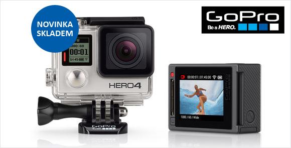 Novinka GoPro HD HERO4 Silver Standard Edition skladem