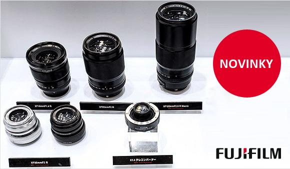 Fujifilm představil připravované objektivy a telekonvertor