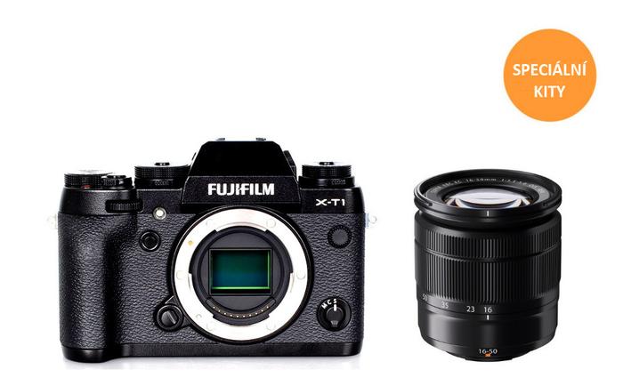 Speciální sety Fujifilm X-Pro1, X-E2 a X-T1 s mimořádnou slevou