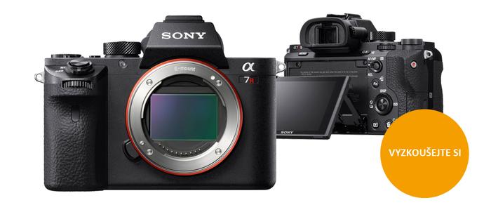 Přijďte si vyzkoušet novinky Sony Alpha A7R II, RX100 IV a RX10 II