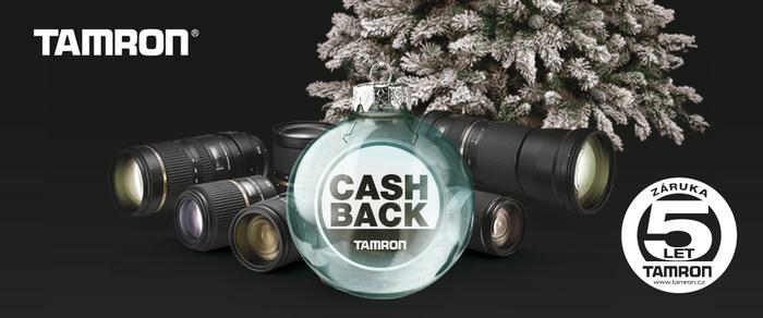 Začíná vánoční cashback Tamron