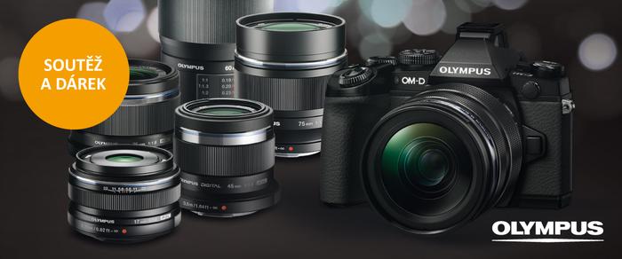 Přijďte si vyzkoušet fotoaparáty Olympus OM-D a PEN a vyhrajte OM-D E-M10 Mk II
