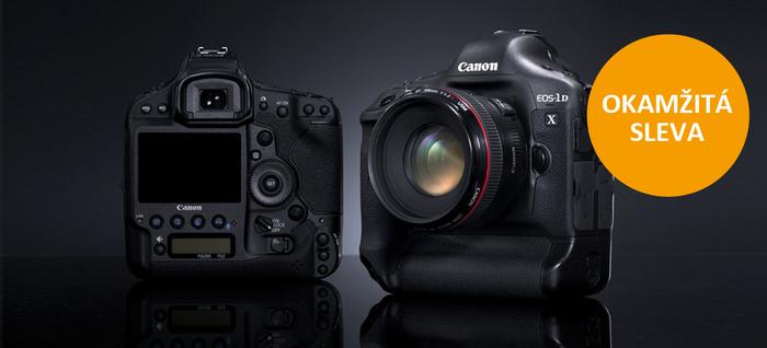 Získejte okamžitou slevu 32 000 Kč při nákupu Canon EOS 1D X