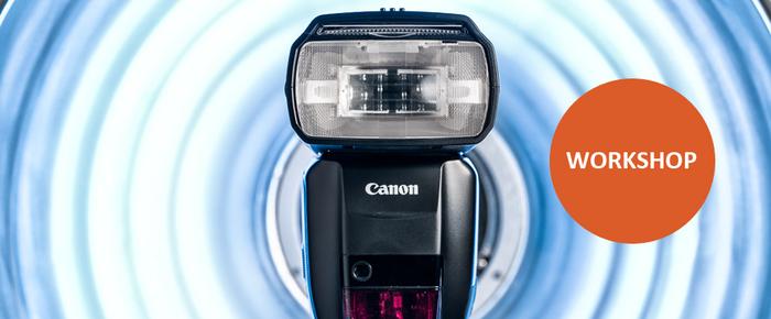 Přijďte se naučit fotografovat s blesky na workshop Canon