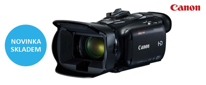 Naskladnili jsme výkonnou kameru Canon Legria HF G40