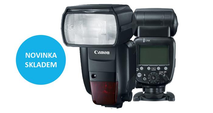 Nový výkonný blesk Canon Speedlite 600EX II-RT je již skladem