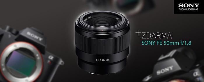 Pořiďte si Sony A6300 se slevou až 5 500 Kč nebo získejte objektiv zdarma k přístrojům řady A7 nebo vybraným objektivům Sony